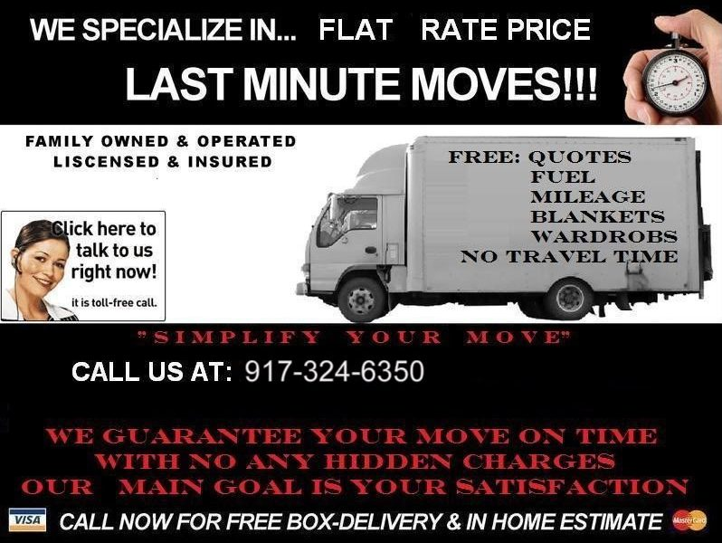 Last Minute Movers